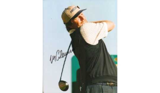 Mark Calcavecchia Signed 10x8 Golf Photograph