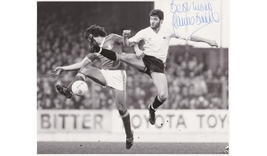 Garry Birtles  8x10 Signed Manchester Utd Photograph