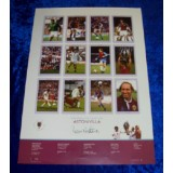 Dennis Mortimer Signed Aston Villa European Cup 23x16 Inch Poster