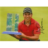Andres Romero 12x8 Signed Golf Photograph