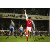 Alan Smith 12x8 Signed Arsenal Photo!