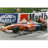 Alex Zanardi 12x8 Signed F1 Photograph
