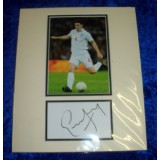 Gareth Barry Signature With England Photo!