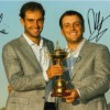 Molinari Brothers Signed 2010 Ryder Cup Photo.