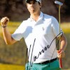 Matteo Manassero Signed 8x12 Golf Photo!
