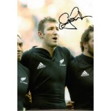 Chris Jack Signed 8x12 New Zealand All Blacks Rugby Photograph