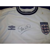 Sol Campbell Signed England Shirt