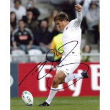 Toby Flood Signed 8x10 England Rugby Photograph