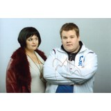 James Corden Signed 8x12 Gavin & Stacey Photo!
