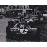 Jackie Stewart Signed 8x10 Grand Prix Photograph