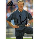 Karl Heinz Rummenigge German Legend signed Adidas