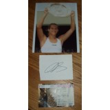 Amelie Mauresmo Signature & 8x10 Wimbledon Photo!
