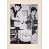 Pete Best Signed 8x10 BEATLES Photo!
