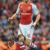 Aaron Ramsey Signed 8x12 Inch Arsenal Photo
