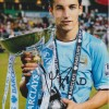 Jesus Navas Signed 8x12 Manchester City Premier League Champions Photo