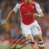 Alex Oxlade-Chamberlain Signed 8x12 Arsenal Photograph