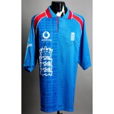 Graeme Hick Signed & Game Worn England No.9 1999 Cricket World Cup shirt