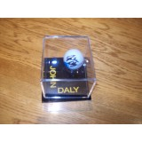 John Daly Signed Golf Ball Display