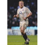 Dan Cole Signed 8x12 England Rugby Photograph