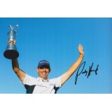 Padraig Harrington 8x12 Signed Golf British Open Photo