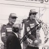 Niki Lauda & Alain Prost Dual Signed Hockenheimring 1984 German Grand Prix Photo