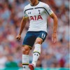 Erik Lamela Signed 8x12 Tottenham Hotspur Photo