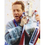 Alan Curbishley Signed 8x10 Charlton Play Off Final Photo