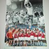 Charlie George & Ray Parlour Dual Signed 12x16 Arsenal Photograph
