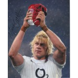 Mouritz Botha  Signed England Six Nations Rugby 8x10 Photo