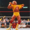 Hulk Hogan Signed 8x10 Wrestling Photo