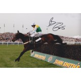 Barry Gerahty  Signed 8x12 Horse Racing Photo