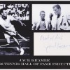 Jack Kramer 1947 Wimbledon Champion Signed 8x10 Display