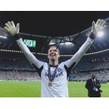 Petr Cech  Signed  8x10 Champions League Photograph