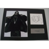 'P Diddy' Signature & Photograph Display