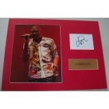 'Labrinth' Signature & Photograph Display