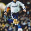 David Ginola Signed 8x12 Spurs Photograph