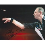 Bob Anderson Darts Legend Signed 8x10 Photograph