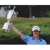 Rory Mcilroy Autograph By World Number One 8x10 Signed 2011 US Open Golf Photograph
