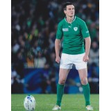 Jonathan Sexton Signed 8x10 Irish Rugby Photograph