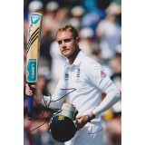 Stuart Broad 8x12 Signed 2013 Ashes Photograph