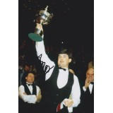 John Parrott 8x12 Signed Snooker Photo!