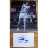 Jimmy Connors Signature & 8x10 Tennis Photograph