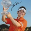 Y E Yang Signed 8x12 Golf Photo