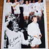 Ralph Coates  Signed 12x16 Spurs Montage Photograph
