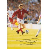 Tim Sherwood Signed 8x11 England Photograph