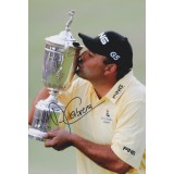 Angel Cabrera Signed 2007 US Open 12x8 Golf Photograph