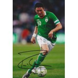 Robbie Keane 4x6 Signed Republic of Ireland Photograph