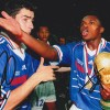Robert Pires & Marcel Desailly Dual Signed 1998 World Cup France Signed Photograph