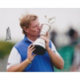 Ernie Els 8x10 Signed 2012 Open Championship Photograph