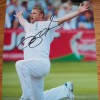 Andrew 'Freddy' Flintoff 12x16 Signed England Ashes Photograph